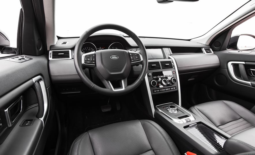 2015 Land Rover Discovery Sport - Slide 25