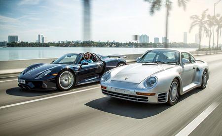 Miami Heat: 2015 Porsche 918 Spyder vs. 1989 Porsche 959 – Feature