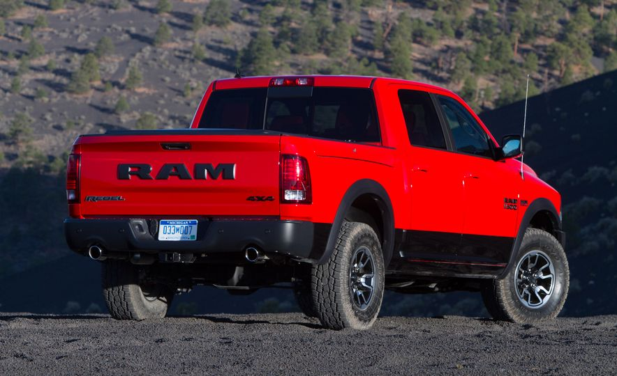 2015 Ram 1500 Rebels - Slide 37