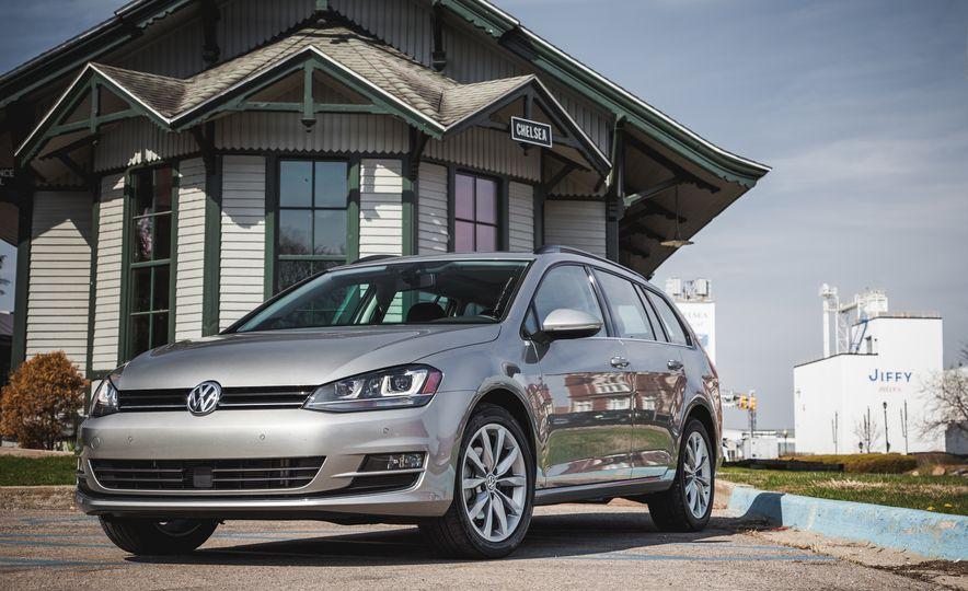 2015 Volkswagen Golf SportWagen TSI - Slide 8