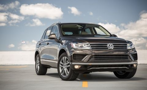 2017 Volkswagen Touareg Tdi