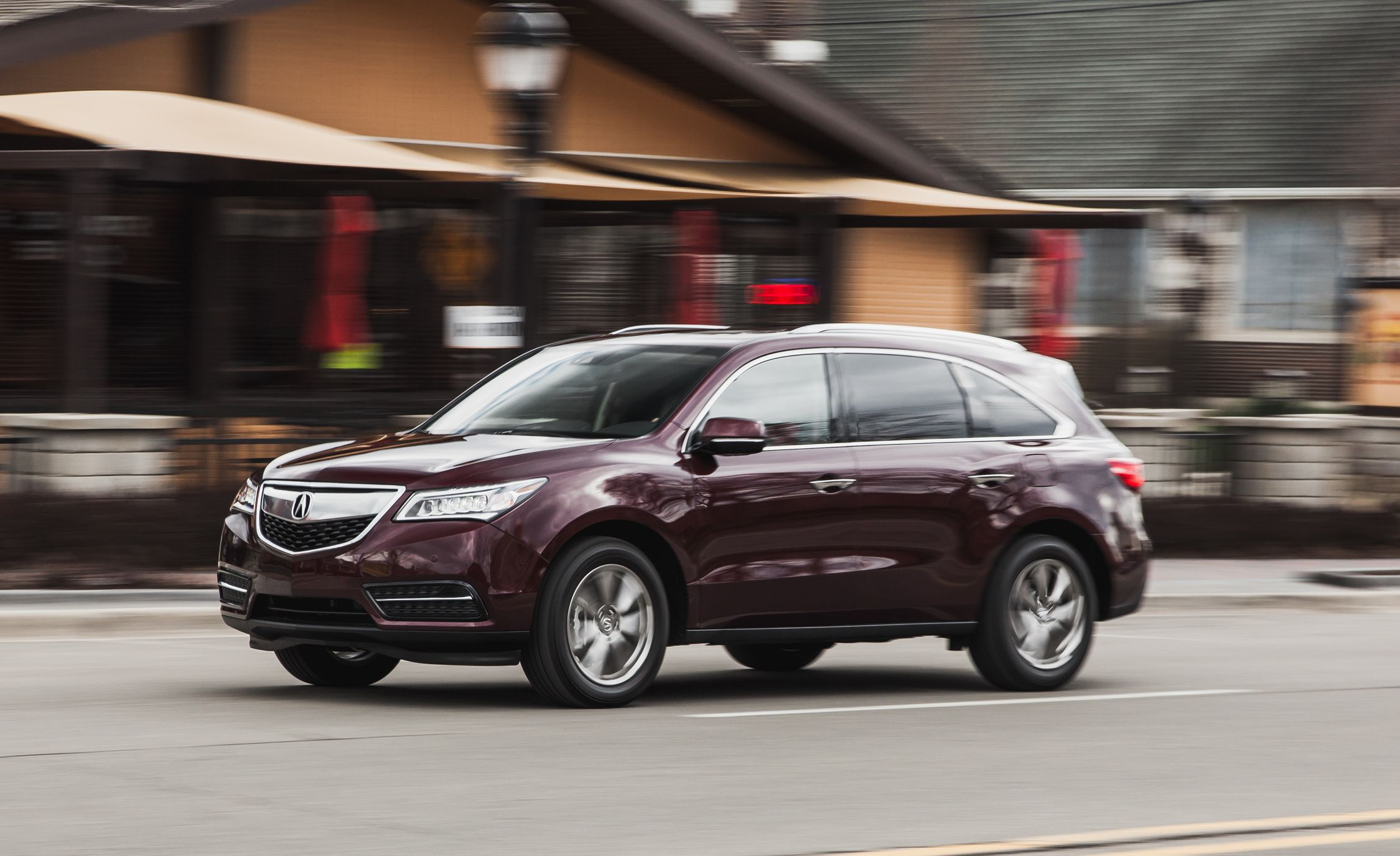 2016 Acura MDX 9 Speed Automatic Test Review