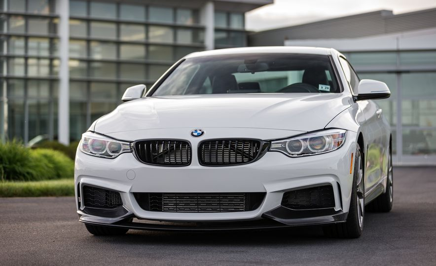 2016 BMW 435i coupe ZHP Edition - Slide 13