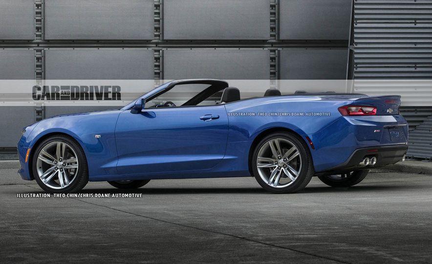 image - Camaro 2015 Convertible Blue