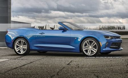 FIRST LOOK: 2016 Chevrolet Camaro Convertible!
