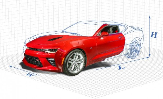 The Chevrolet Camaro Hasn't Grown as Much Since 1967 as You Might Think