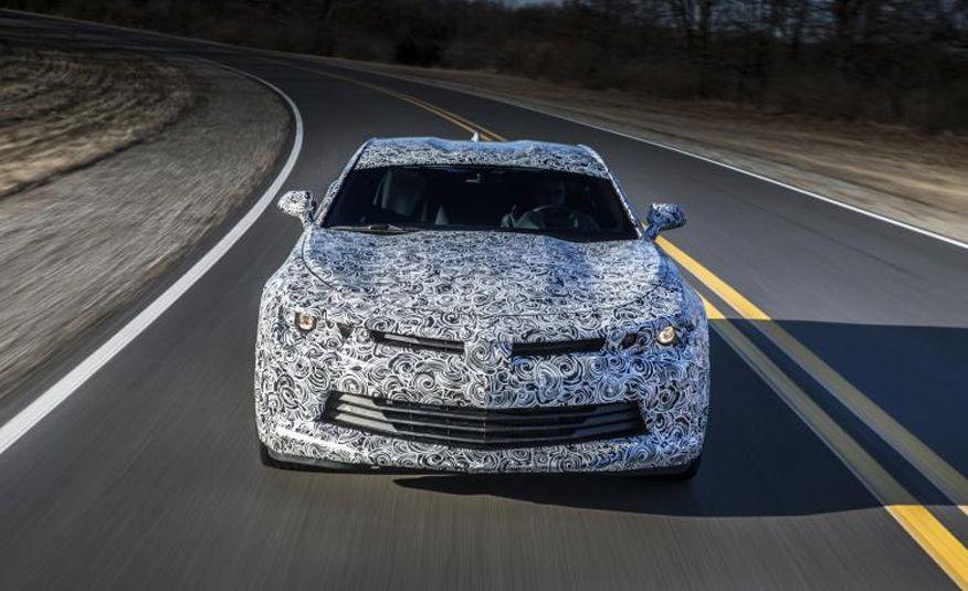 2016 Chevrolet Camaro prototype - Slide 4