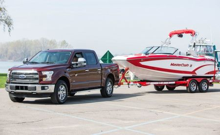 Hands Off! The 2016 Ford F-150 Can Back Up a Trailer For You [w/ Video]