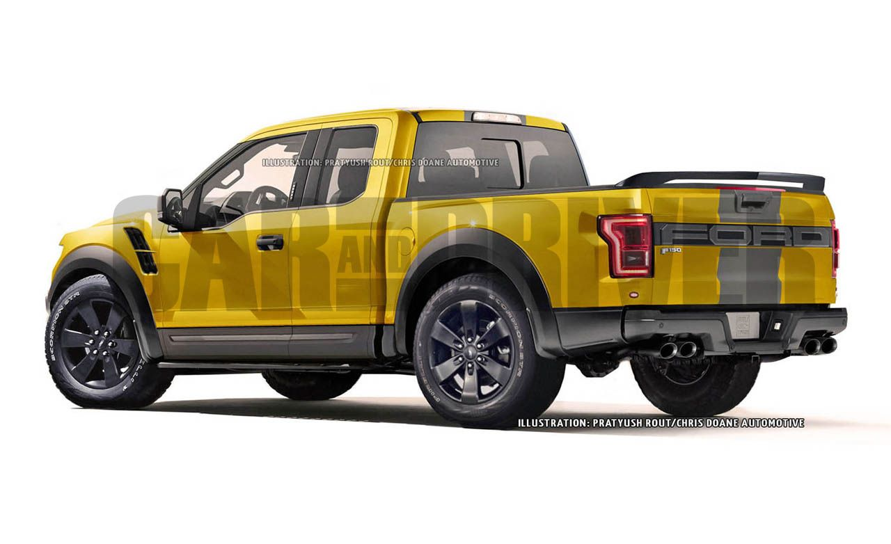 Next Generation Ford F 150 Performance Pickup Rendered News Car And Driver