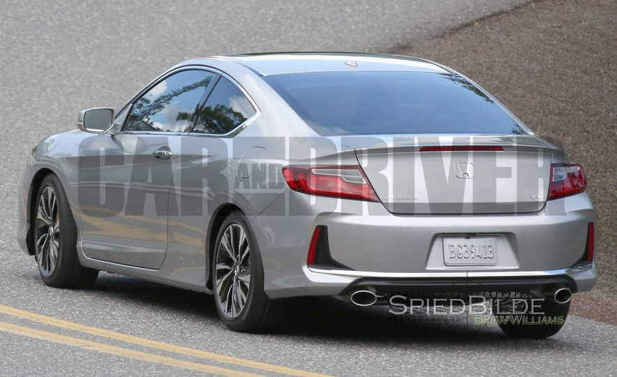 2016 Honda Accord Coupe: What It Is - Slide 19