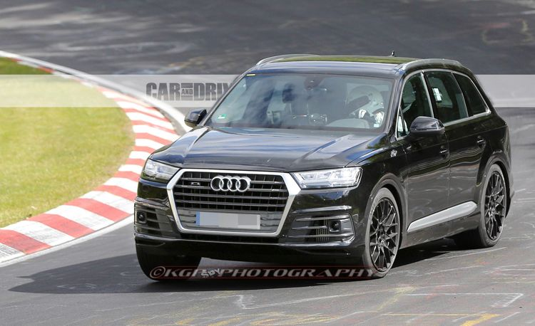 2017 Audi SQ7 Spied – Future Cars