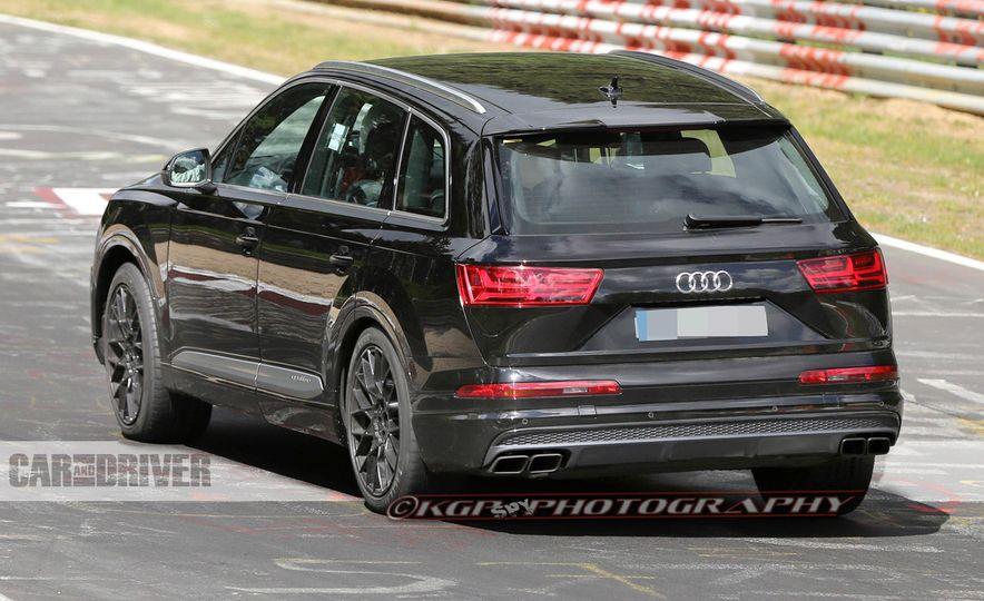 2017 Audi SQ7 (spy photo) - Slide 6