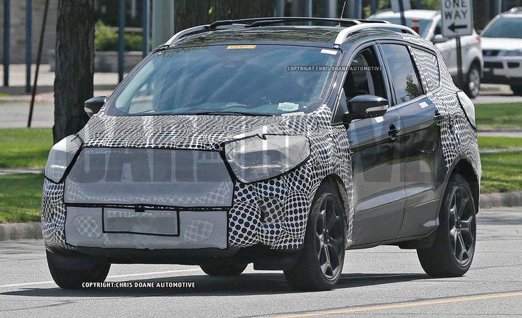 2017 Ford Escape Spy Photos – Future Cars