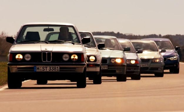 Video: BMW Celebrates 40 Years of the 3-series