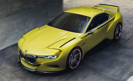 BMW Concept Pays Homage to the 3.0 CSL