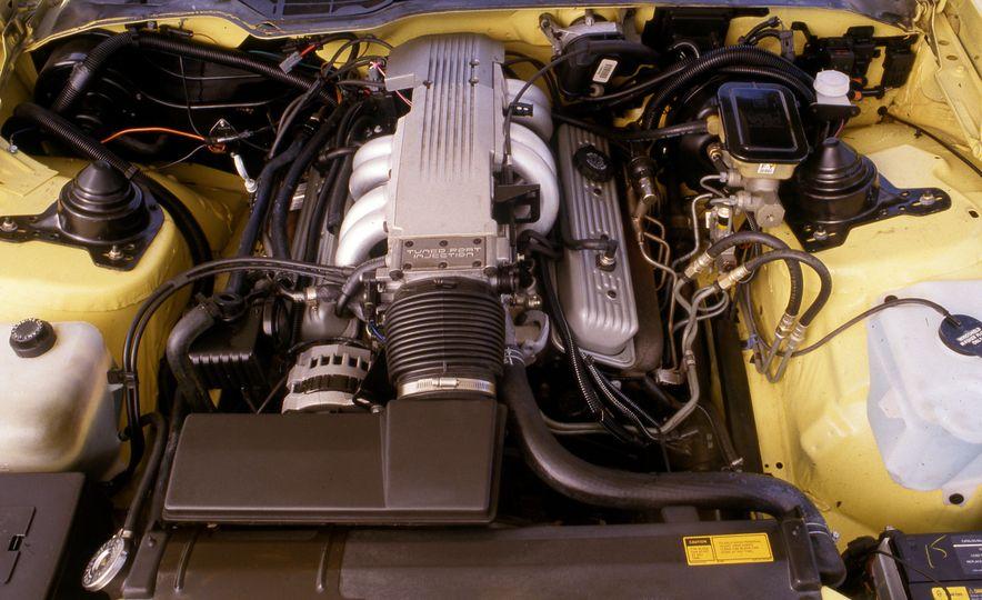 Pontiac Firebird Formula, Chevrolet Camaro IROC-Z, and Ford Mustang GT - Slide 7