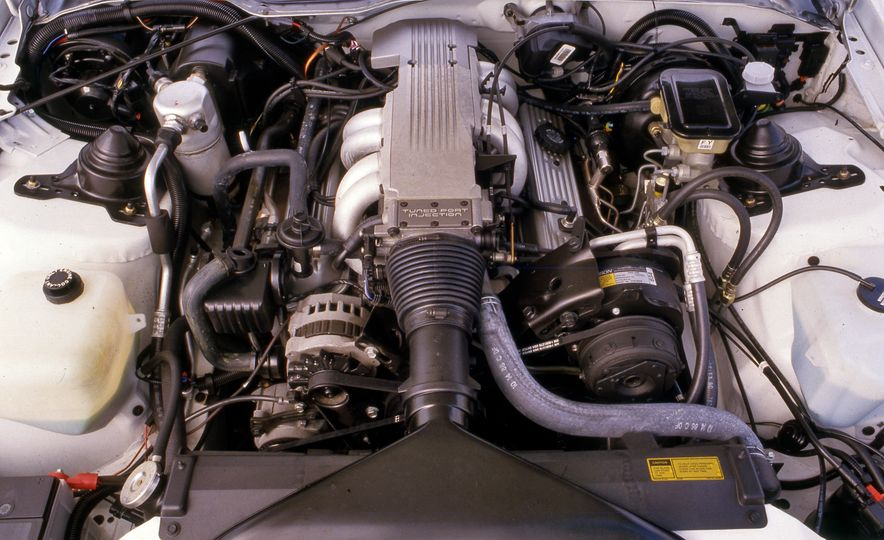 Pontiac Firebird Formula, Chevrolet Camaro IROC-Z, and Ford Mustang GT - Slide 10