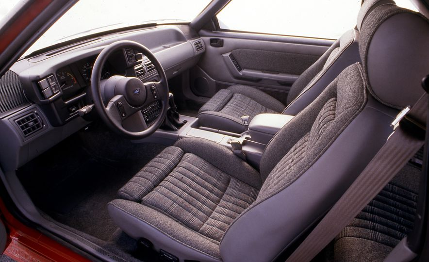 Pontiac Firebird Formula, Chevrolet Camaro IROC-Z, and Ford Mustang GT - Slide 13