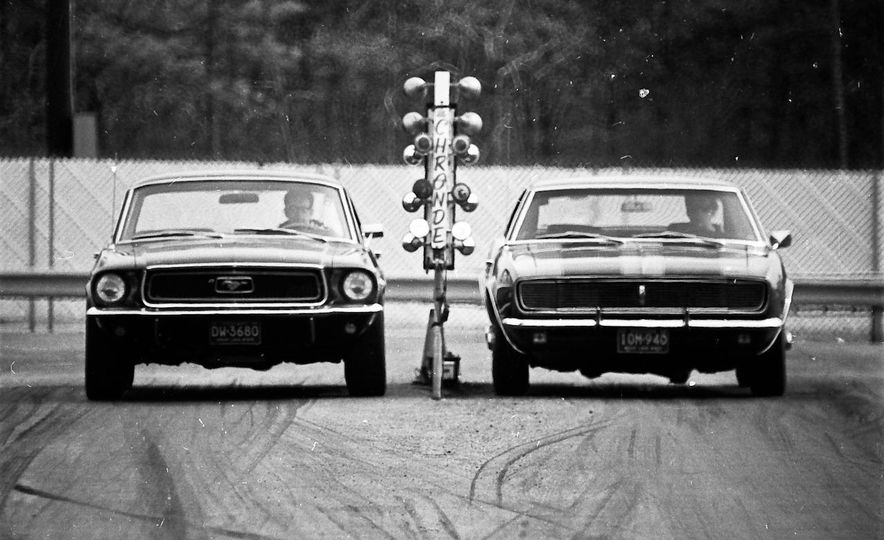 "1968 Chevrolet Camaro Z/28 and ""Tunnel Port"" Ford Mustang coupe - Slide 3"