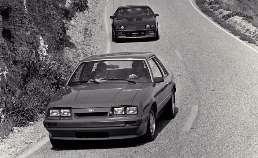 "1968 Chevrolet Camaro Z/28 and ""Tunnel Port"" Ford Mustang coupe - Slide 11"