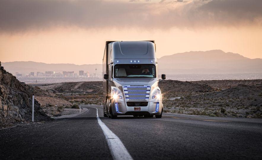 Freightliner Inspiration autonomous semi truck - Slide 11