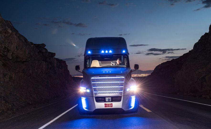 Freightliner Inspiration autonomous semi truck - Slide 14