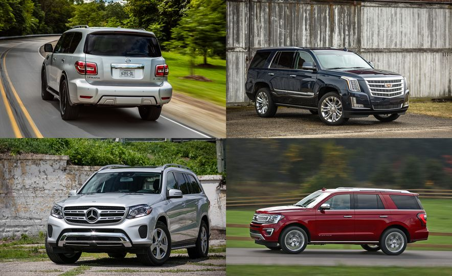 Big Hauling: Every Full-Size SUV Ranked from Worst to Best ...