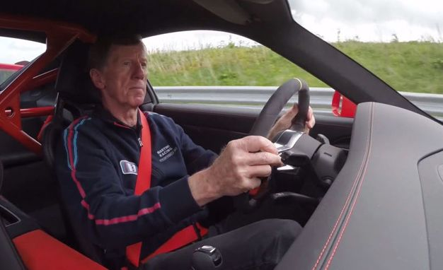 Watch Racing Legend Walter Röhrl Flog Porsche's Wicked 911 GT3 RS