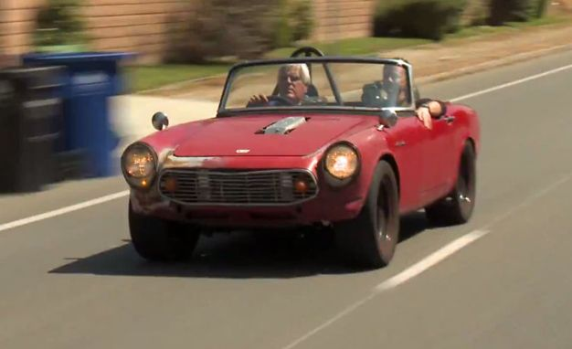 Leno Drives A Honda S600 That Could Murder Your Miata
