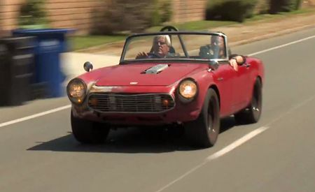 Watch Jay Leno Drive the Raddest Honda S600 Ever—It Has a Superbike Engine