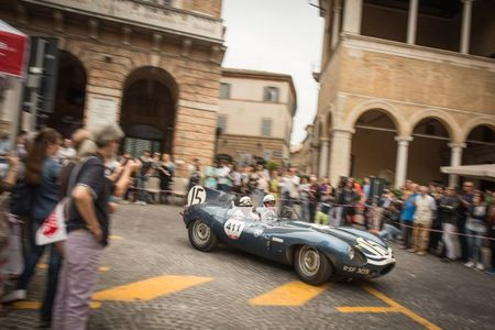 Watch Nine Classic Jaguars on the Mille Miglia