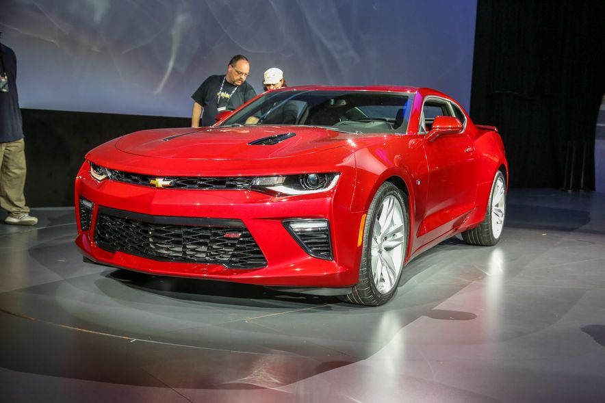 2016 Chevrolet Camaro RS - Slide 36