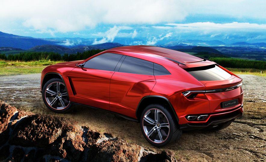 Lamborghini Urus concept - Slide 4