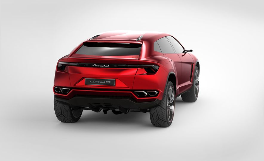 Lamborghini Urus concept - Slide 9