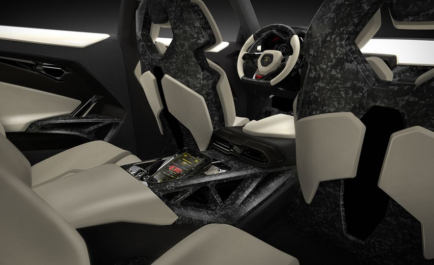 Lamborghini Urus concept - Slide 12