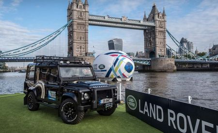 Land Rover Defender Rugby Trophy Truck Looks Like the Popemobile, Could Be Driven to Hell and Back