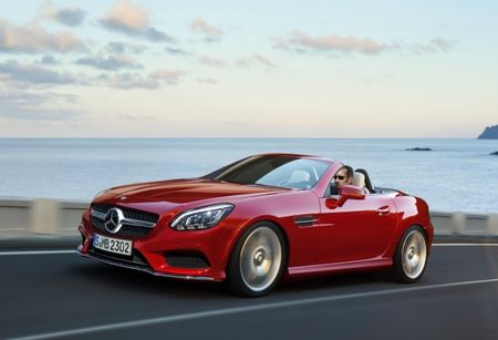 Mercedes-Benz Readies Three New Roadsters