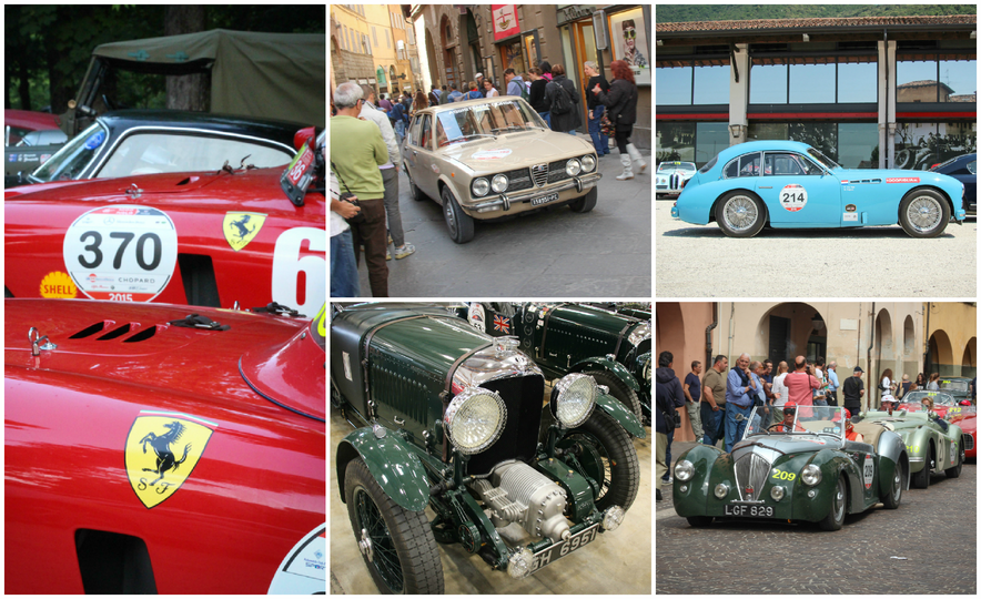 In the Middle of the Mille Miglia: We Run the World's Most Storied Road Rally - Slide 1
