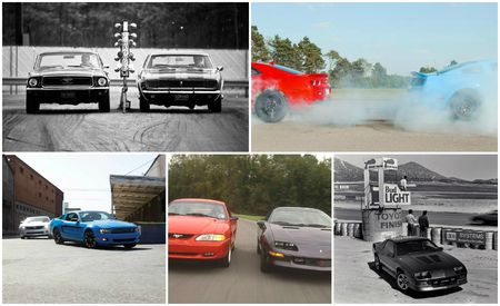 Lookin' for a Fight? The Complete History of Our Camaro-vs.-Mustang Comparison Tests