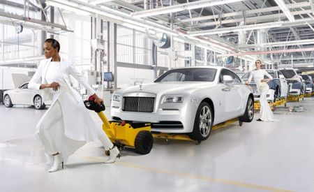"Because Fashion! Rolls-Royce ""Wraith—Inspired by Fashion"" Debuts, Inspires Nutty Press Photos"