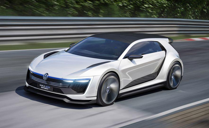 Volkswagen Golf GTE concept - Slide 6
