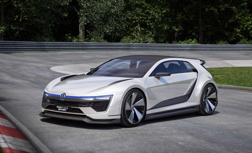 Volkswagen Golf GTE concept - Slide 11