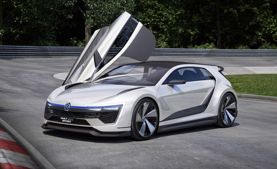 Volkswagen Golf GTE concept - Slide 12