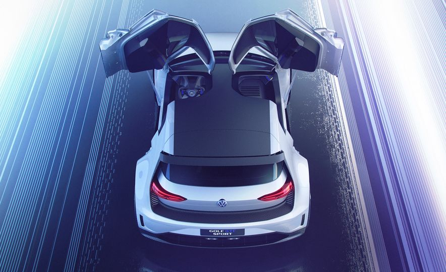 Volkswagen Golf GTE concept - Slide 21