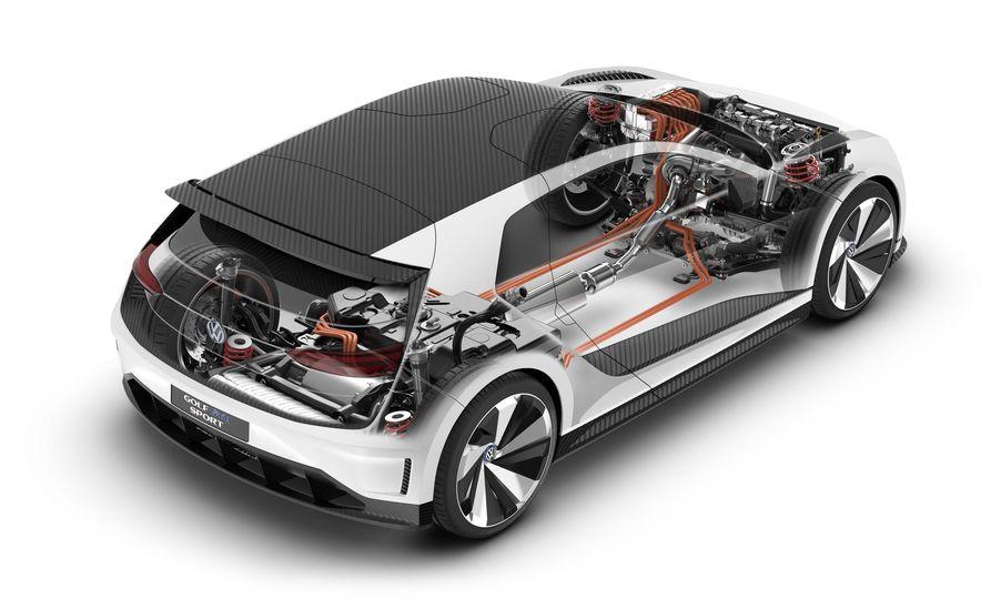 Volkswagen Golf GTE concept - Slide 24
