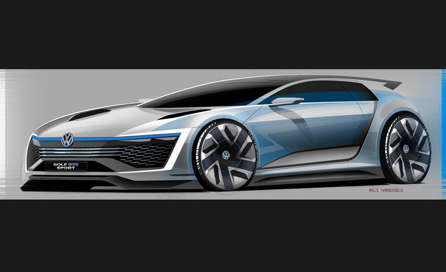 Volkswagen Golf GTE concept - Slide 25