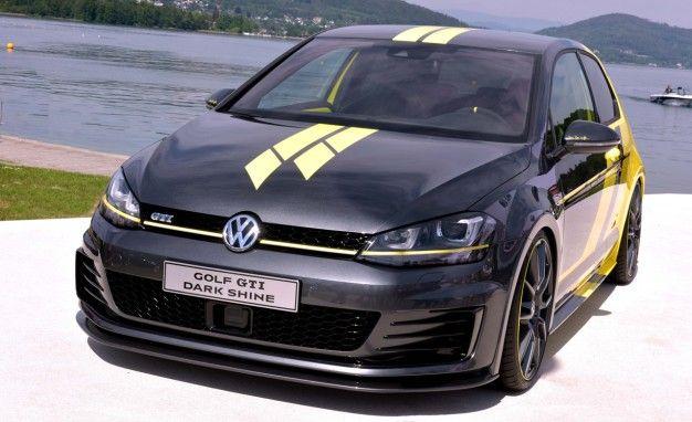 Dark Shine, Good Practice: VW Apprentices Build Rad, 395-hp GTI Dark Shine Concept