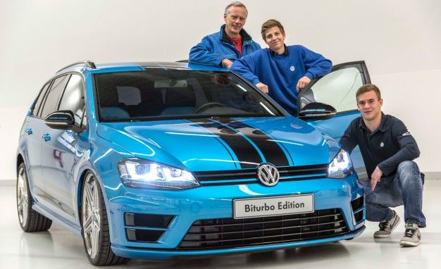 VW Golf Variant Biturbo: One-Off Twin-Turbo Diesel Wagon Goodness