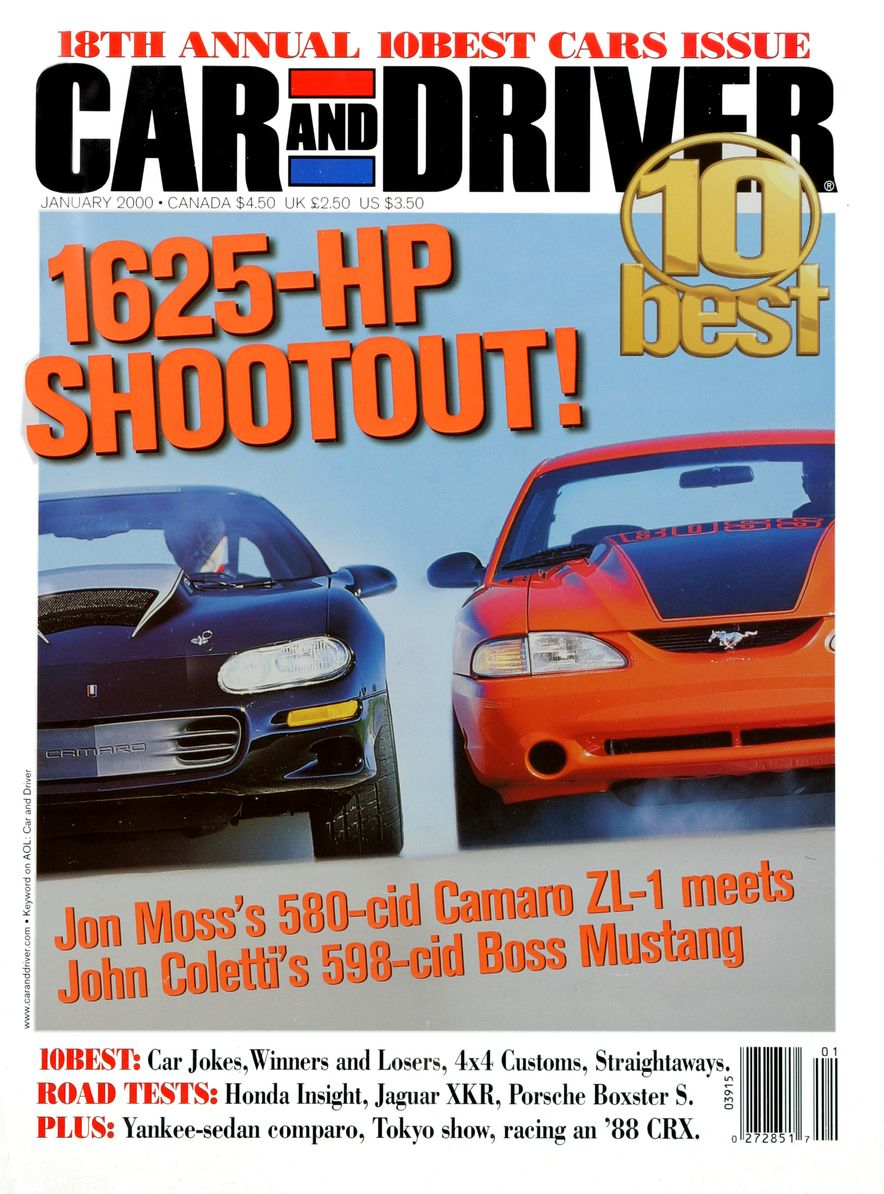Going Millennial: The Car and Driver Covers of the 2000s and 2010s