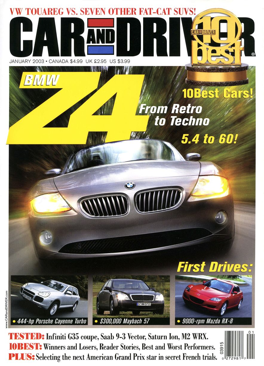 Going Millennial: The Car and Driver Covers of the 2000s and 2010s - Slide 38